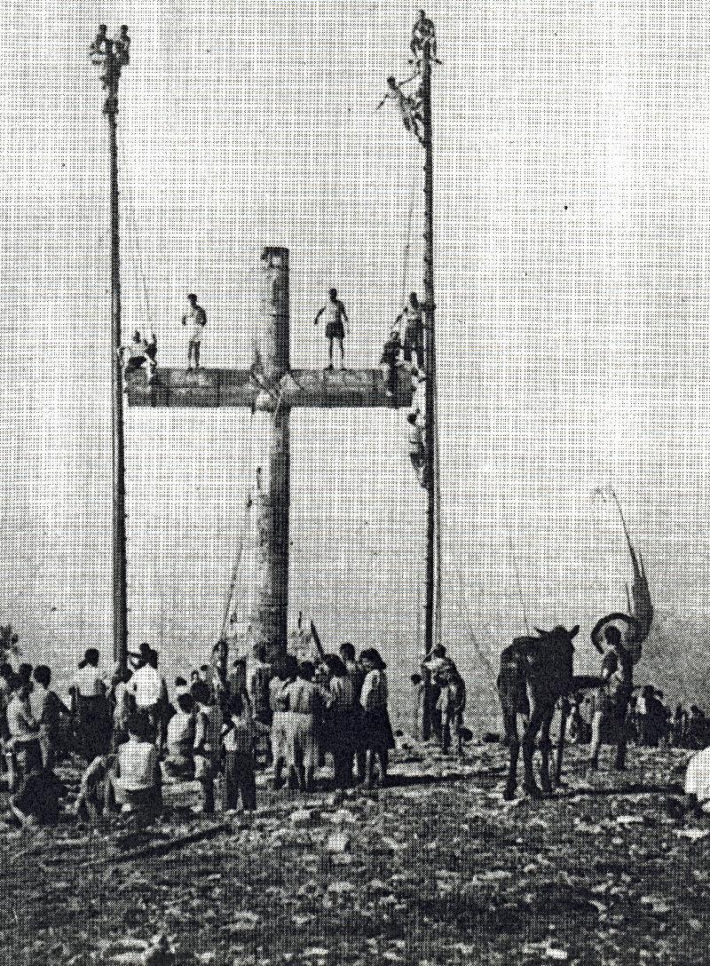 """La Croce"""" sul monte Forcella di Mezzo"""